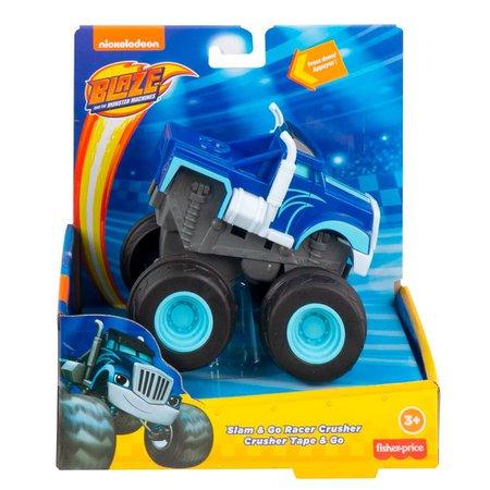 Fisher-Price Veículo Blaze Slam e Go Racer Crusher - Mattel