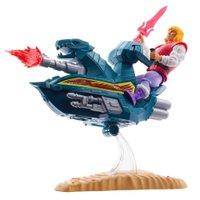 HeMan Master Of The Universe Jet Sled e Príncipe Adam - Mattel