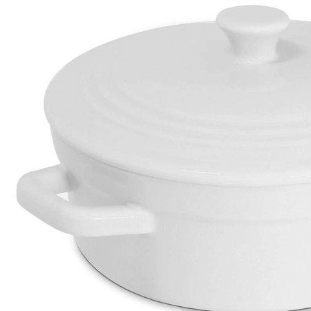 Mini Caçarola 550ml - Mondoceram Gourmet - Branco
