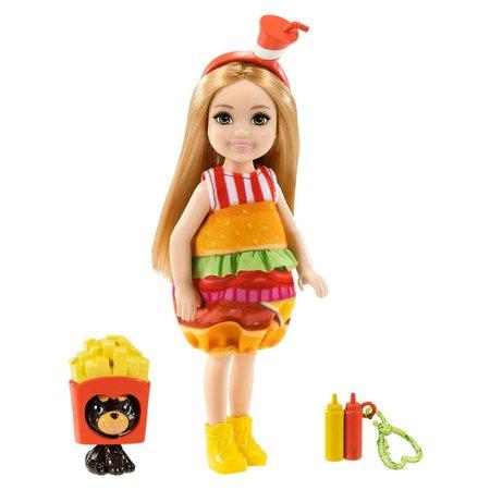 Barbie Mundo de Chelsea Fantasia de Sanduíche - Mattel