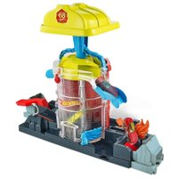 Hot Wheels City Bombeiro Casa De Resgate - Mattel