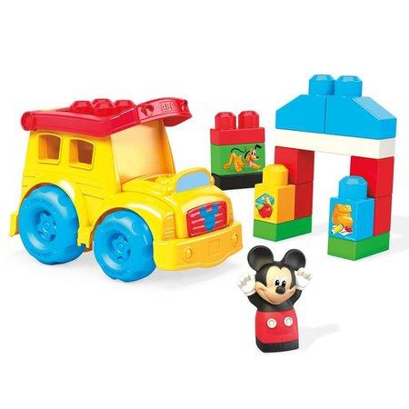 Mega Bloks Disney Junior Ônibus Escolar do Mickey - Mattel