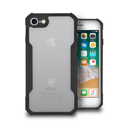 Capa Dual Shock X Preta - para IPhone 7 E 8 - GShield