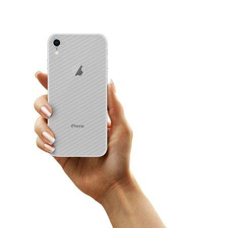 Película Traseira de Fibra de Carbono Transparente para Iphone XR - Gorila Shield