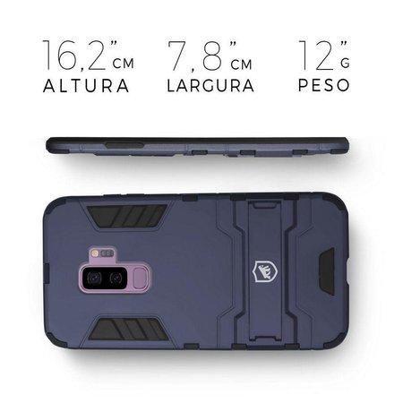 Kit Capa Armor e Película Nano Gel Dupla para Galaxy S9 Plus - Gorila Shield