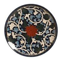 Prato Raso Tsuru em Cerâmica 26cm Porto Brasil