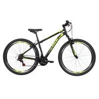 Bicicleta MTB Caloi Velox 2020 Aro 29 Parede Dupla - Susp Diant - 21 Velocidades - Preto