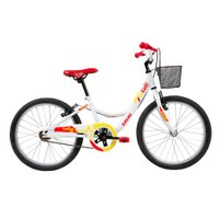 Bicicleta Infantil Caloi Luli Aro 20 - Branco
