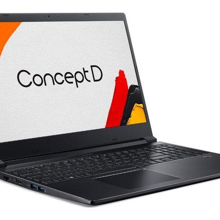 Notebook Acer ConceptD 3 CN315-71P-5527 Intel Core i5 12GB NVIDIA Quadro T1000 256GB SSD Windows Pro