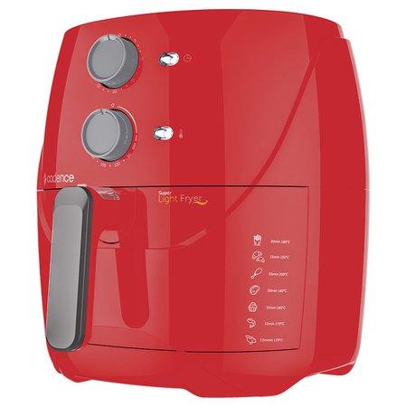 Kit Cadence Colors Light Fryer II Vermelho