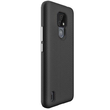 Capa Protetora Antiqueda Y-Cover Triangle Preta Motorola Moto E7