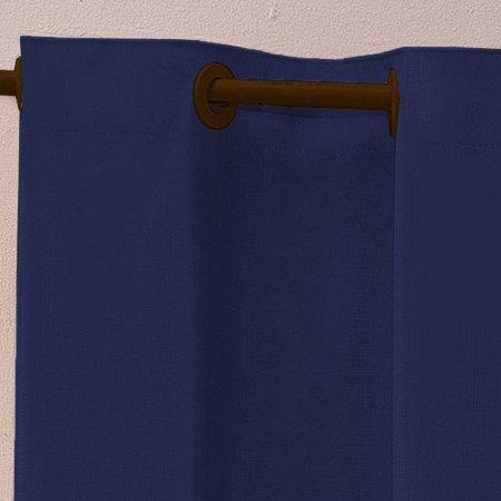 Cortina Blackout Corta Luz PVC 110cm x 130cm - Azul Marinho