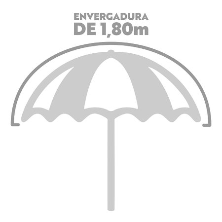 Guarda-Sol Bagum 1,80m Listras Fashion - Estamp-1