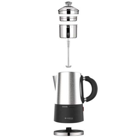 Cafeteira Cadence Italiana Picolla Inox 127V CAF105