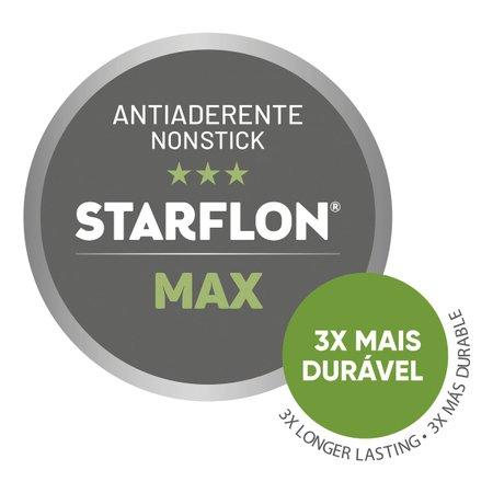 Jogo de Panelas Tramontina 5 Peças Paris Texture em Alumínio Antiaderente Starflon Max Grafite