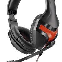 Headset Gamer Multilaser Warrior P2 Preto/Vermelho, PH101