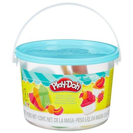Play Doh Mini Balde Sundaes - Hasbro