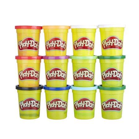 Play-Doh Cores de Inverno Kit com 12 Potes - Hasbro