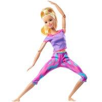 Barbie Feita para Mexer Loira Roupas Esportivas - Mattel