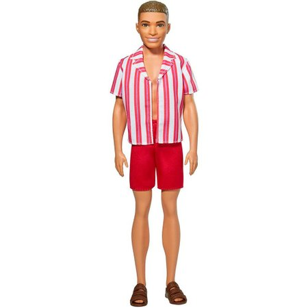 Ken Aniversário 60 Anos Roupa de Praia - Mattel