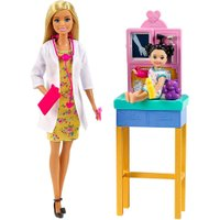 Barbie Profissões Pediatra Loira - Mattel