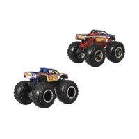 Hot Wheels Monster Trucks Hot Wheels 4 Vs Hot Wheels 1 - Mattel