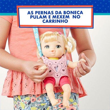 Baby Alive Littles Equipe de Aventuras Loira - Hasbro
