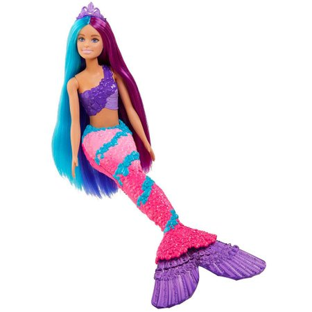 Barbie Dreamtopia Sereia Penteados Fantásticos - Mattel
