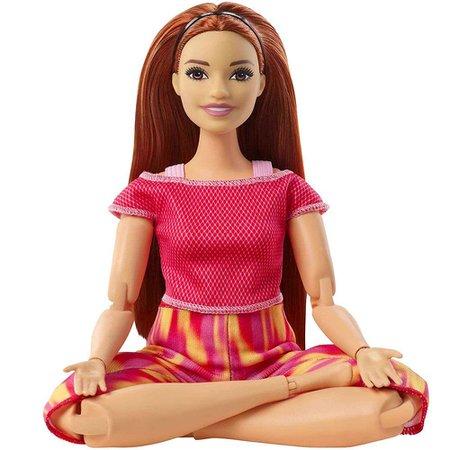 Barbie Feita para Mexer Ruiva Roupas Esportivas - Mattel