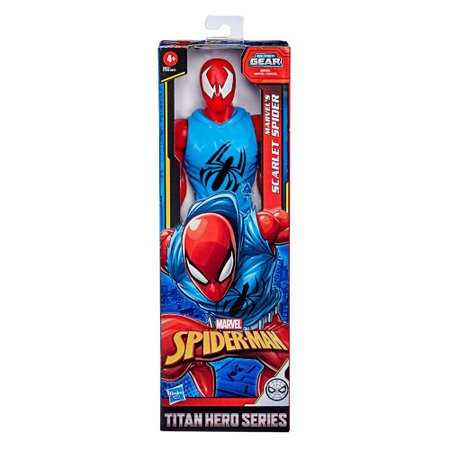Boneco Homem-Aranha Titan Hero Series Scarlet Spider - Hasbro