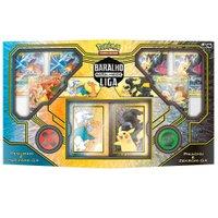 Pokémon Box Pikachu e Zekrom Vs Resgiram e Charizard - Copag