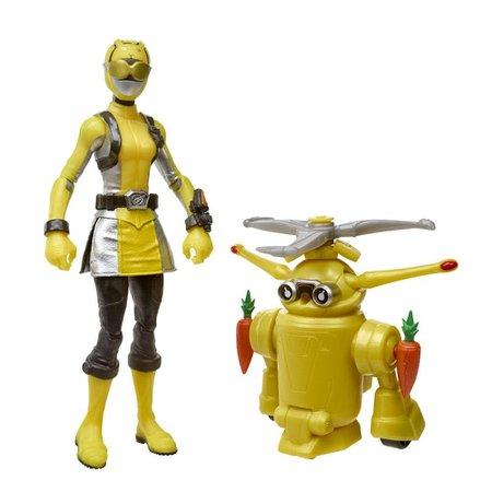 Power Rangers Bot Yellow Ranger e Jax Beastbot - Hasbro