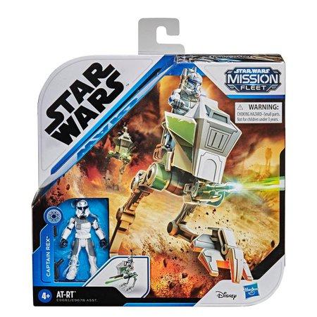 Star Wars Mission Fleet Captain Rex AT-RT - Hasbro