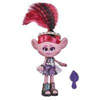 Trolls Trollstopia Cabelo Surpresa Poppy Glam Rock - Hasbro