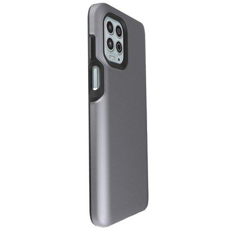 Capa Protetora Antiqueda Y-Cover Impact Cinza Motorola Moto G100