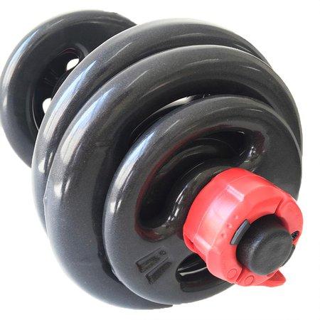 Kit Dumbbell (halter) Ajustável De Até 16kg - Lock Jaw