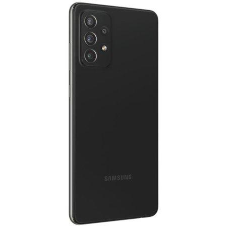 Smartphone Samsung Galaxy A72 128GB 4G Wi-Fi Tela 6.7'' Dual Chip 6GB RAM Câmera Quádrupla + Selfie 32MP - Preto