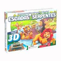 Jogo Escadas E Serpentes 3D - Grow