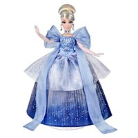 Boneca Disney Style Series Cinderela Moda Natalina - Hasbro