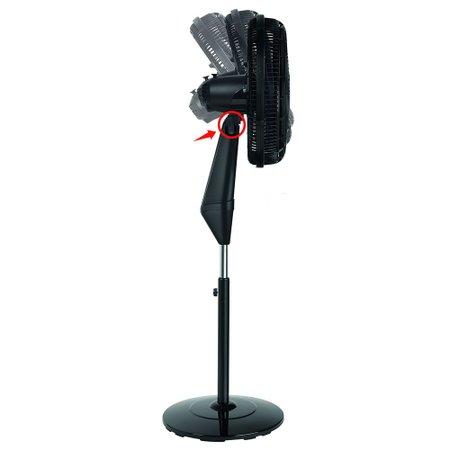 Ventilador Arno Coluna 40cm Ultra Silence Force Preto 220V VD4C