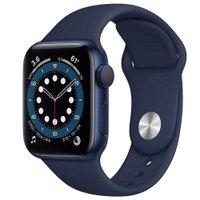 Apple Watch Series 6 40mm Azul GPS Oximetro P Esportiva Azul