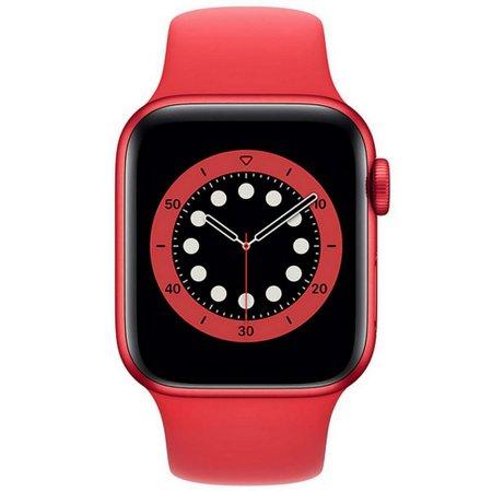 Apple Watch Series 6 40mm Red GPS Oximetro P Esportiva Verme