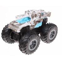 Hot Wheels Monster Trucks Bash-Ups Invader Azul - Mattel