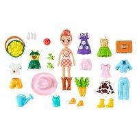 Polly Pocket Pacote de Modas Surpresas Cenoura - Mattel