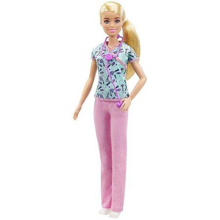 Barbie Profissões Enfermeira - Mattel