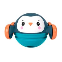 Fisher Price Roll Pop e Zoom Amigos Pinguim - Mattel
