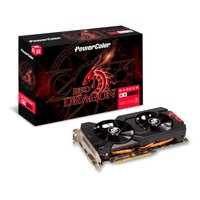 Placa de Vídeo PowerColor Red Dragon Radeon RX 570, 8GB, GDDR5, 256 Bits - 8GBD5-DHDV3/OC