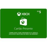 Gift card / Cartão Presente XBox R$5