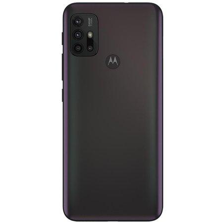 Kit Celular Motorola Moto G30 Preto 128GB + Caixa De Som Bluetooth Y-Move 12W