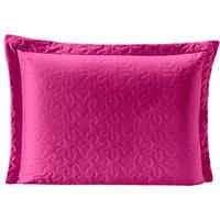 Porta Travesseiro Pratik Pink/Rosa Avulso Dupla Face c/ Zíper - Microfibra